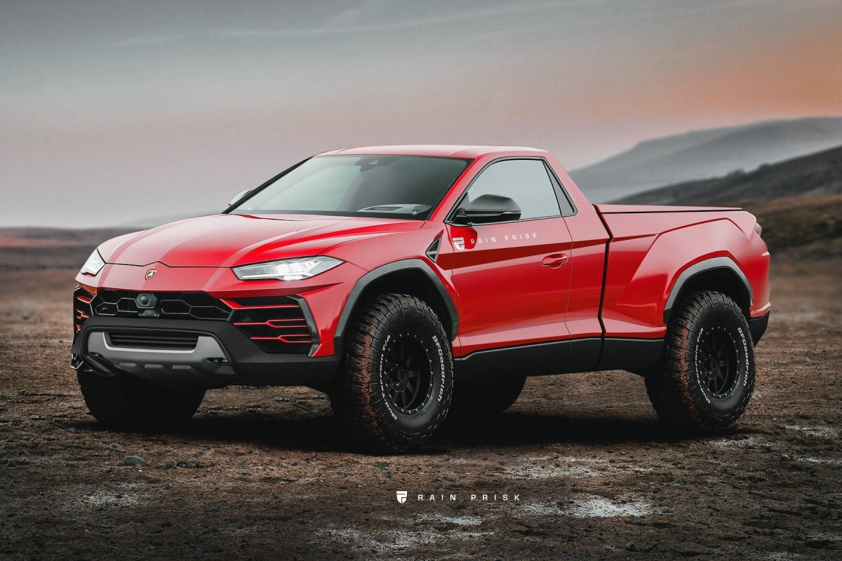 Le pick-up Lamborghini de vos rêves