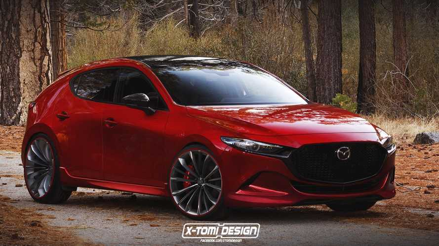 2019 Mazda Mazdaspeed3 Render Is The Hot Hatch We're Not Getting