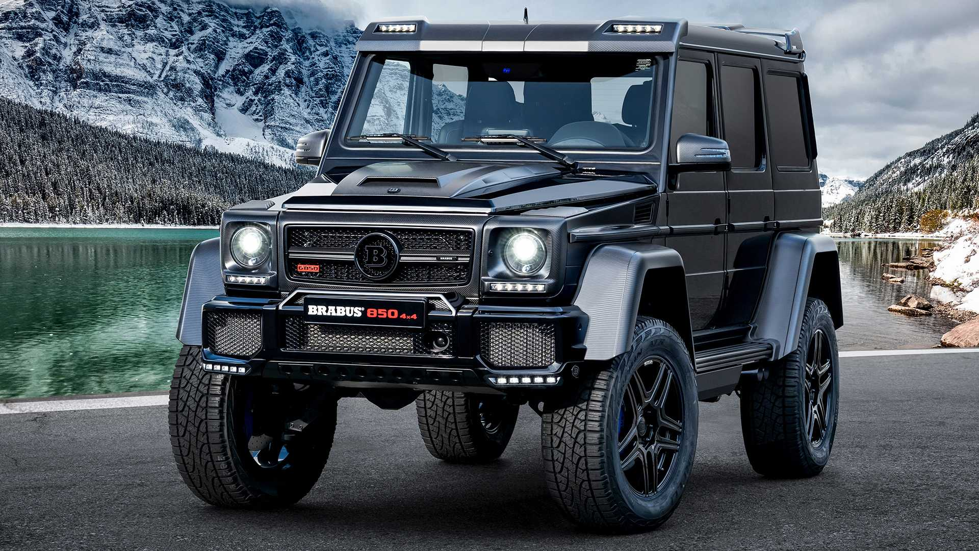 Brabus 850 4x4² Final Edition Gives Old Mercedes G-Class 838 HP