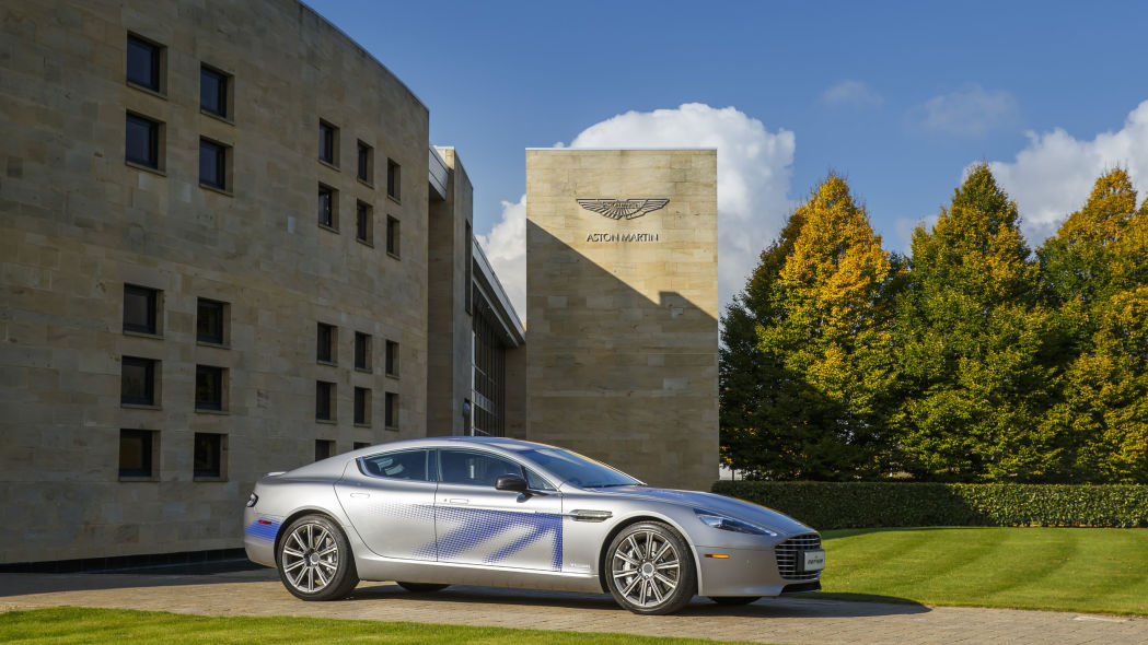 James Bond going electric in next film with Aston Martin Rapide E