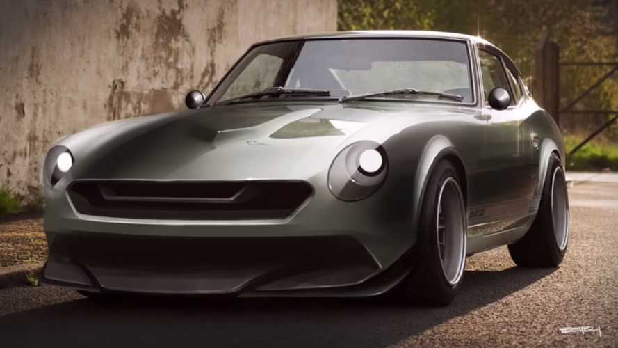For The Love Of The Z: Watch Datsun 240Z Get Modernized Design
