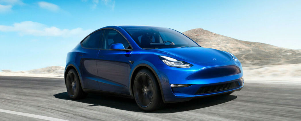 Tesla Model Y electric crossover is unveiled, looking very Model 3