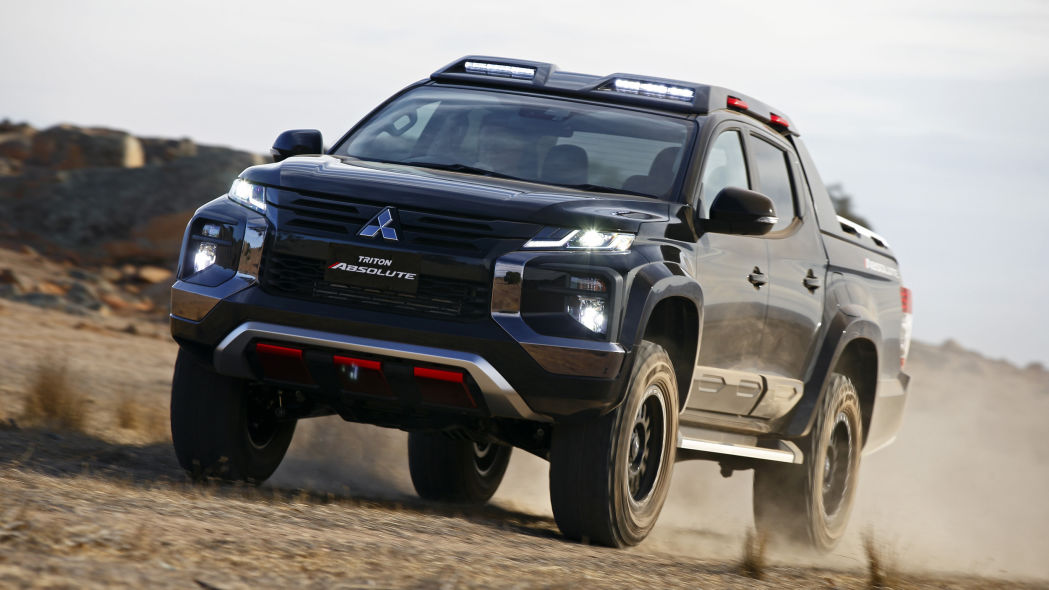 L200 Absolute Concept is the off-road truck we want from Mitsubishi