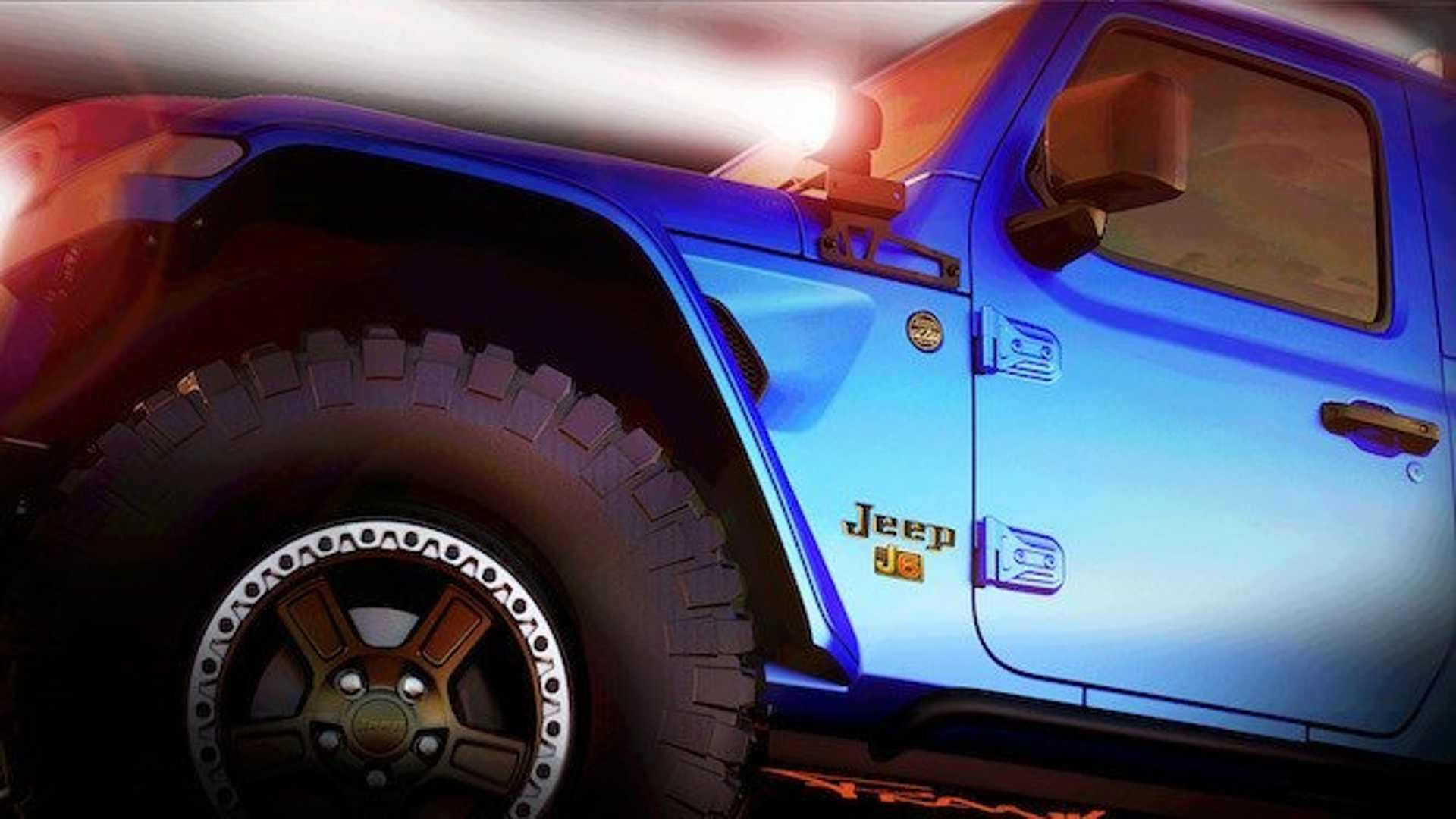 Jeep Teases 2019 Easter Jeep Safari Concepts