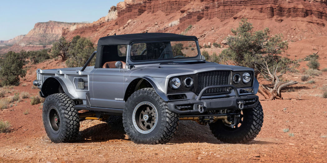 2019 Jeep Moab Easter Safari Concepts revealed, and it's a pickup paradise