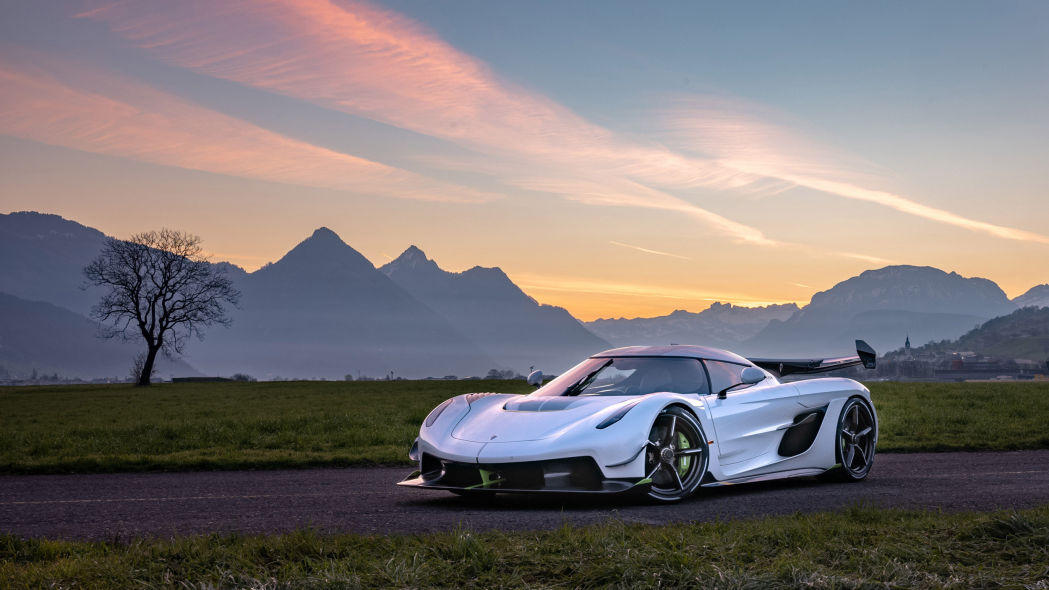 Koenigsegg Jesko gets the scenic photoshoot it deserves