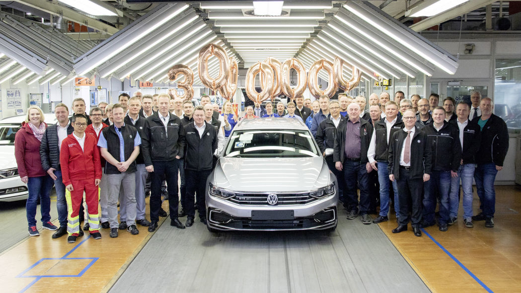 VW builds 30 millionth Passat