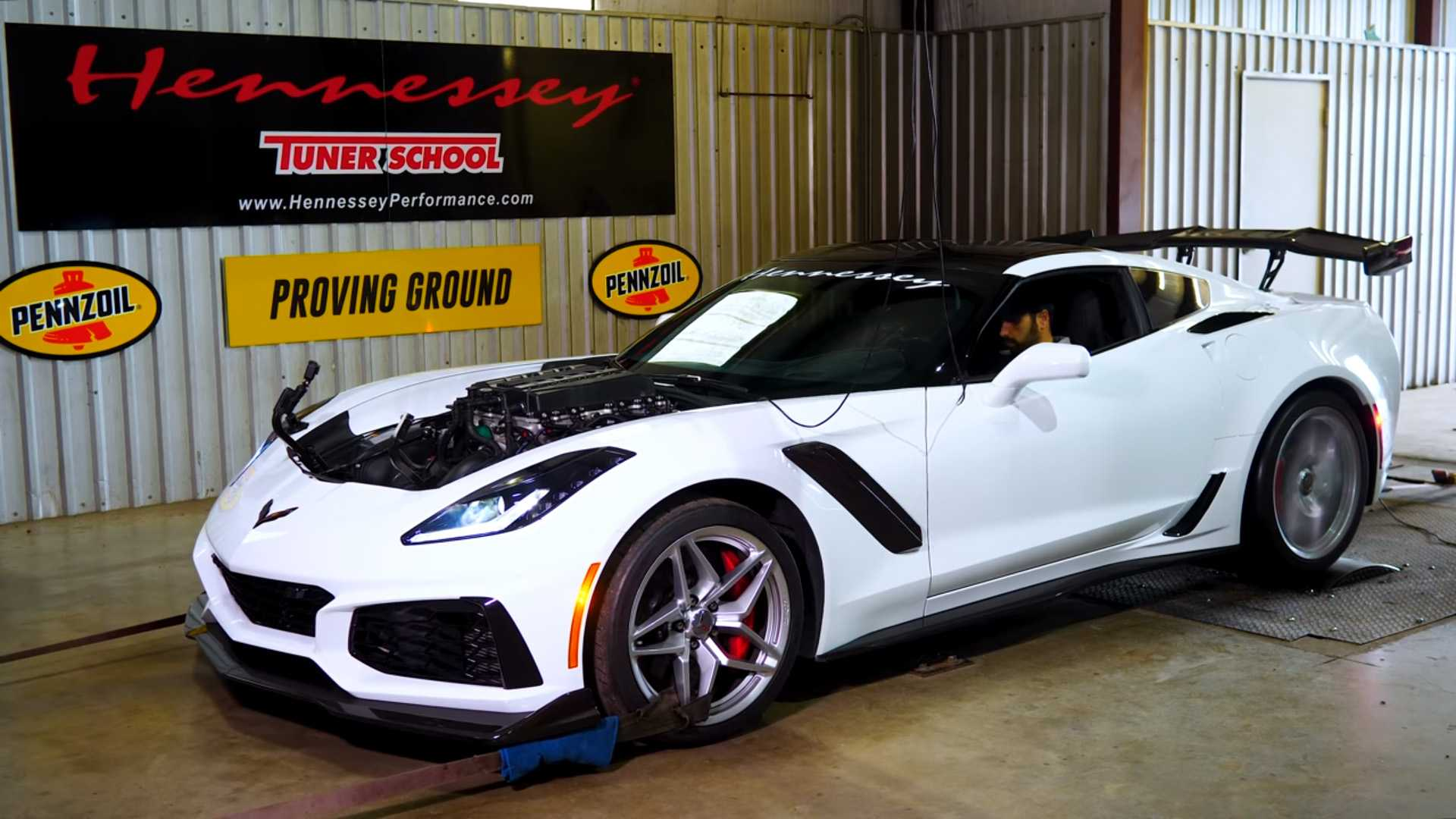Hennessey Tuned Corvette ZR1 Makes Over 1,000 HP And It Sounds Epic
