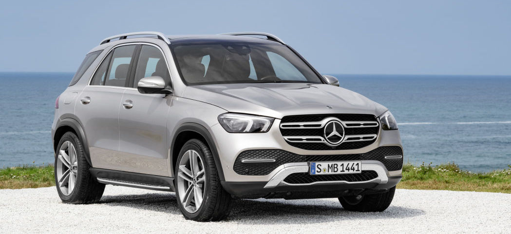 Mercedes prepping a GLE 580 with the GLS' 483-hp mild-hybrid V8?