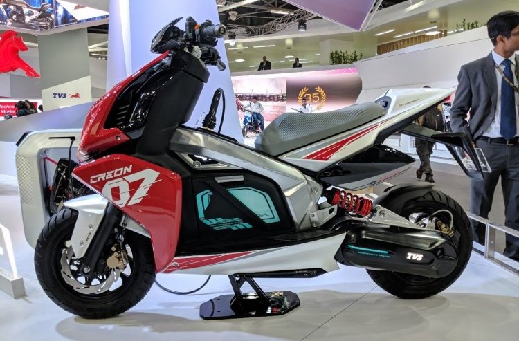 TVS Motor to launch its first EV by March 2020