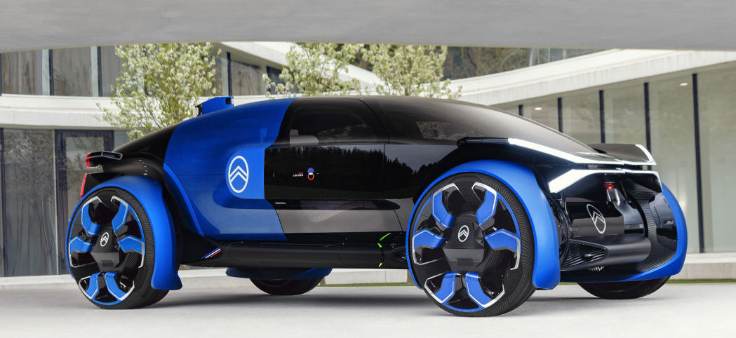 Citroen 19_19 concept is a funky fresh French crossover EV