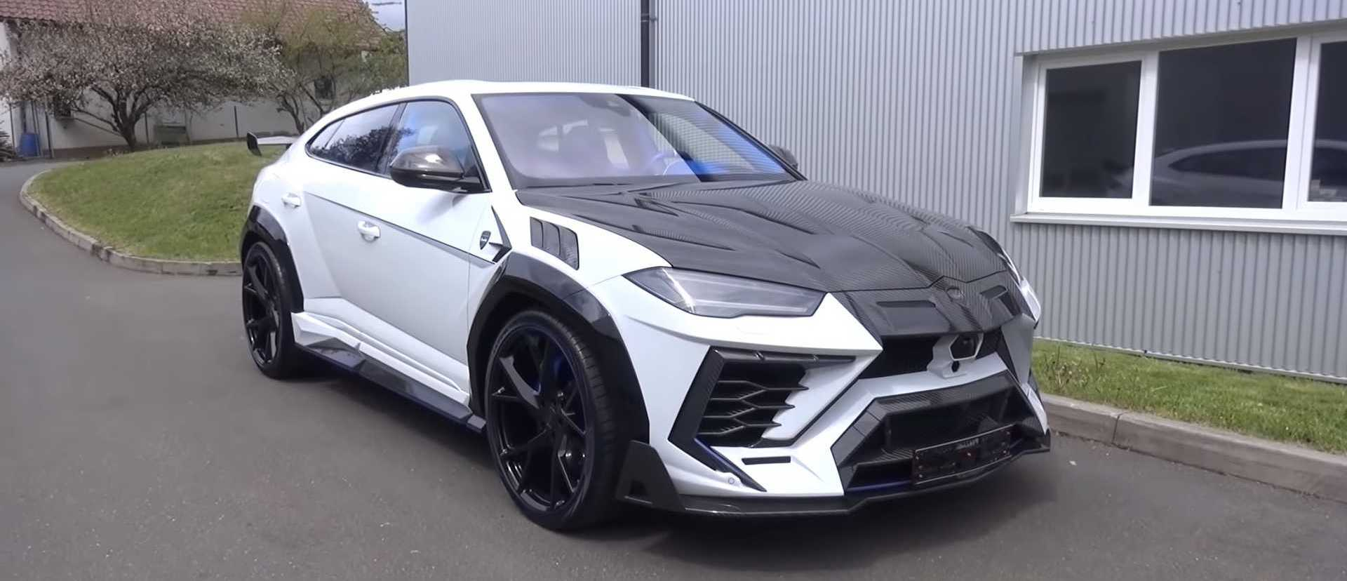 Take A Tour Of The Wild Mansory Venatus Lamborghini Urus