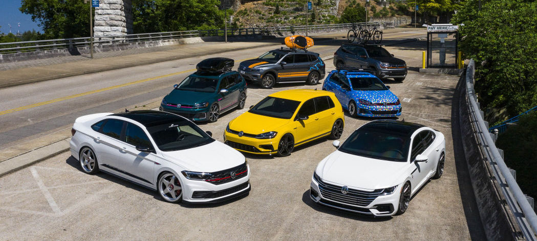 Volkswagen reveals scads of 'concept' tuner cars for SoWo 2019