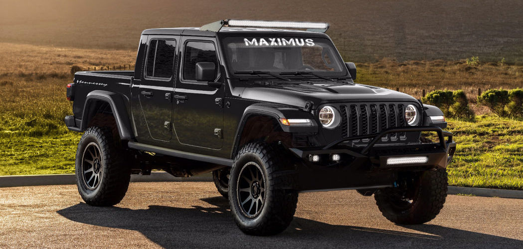Hennessey Maximus turns 2020 Jeep Gladiator into a 1,000-horsepower monster