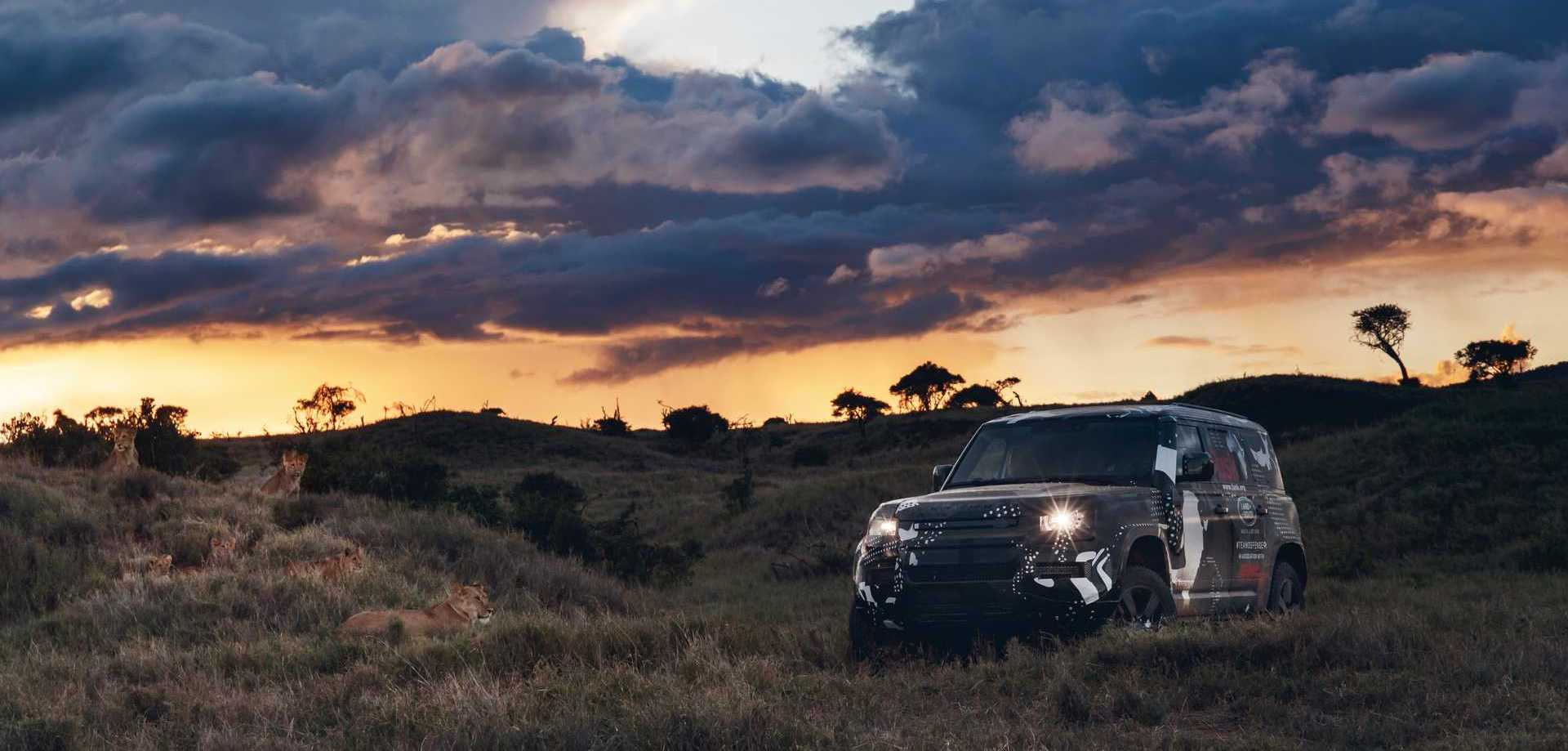 2020 Land Rover Defender Completes Grueling Test In Kenya