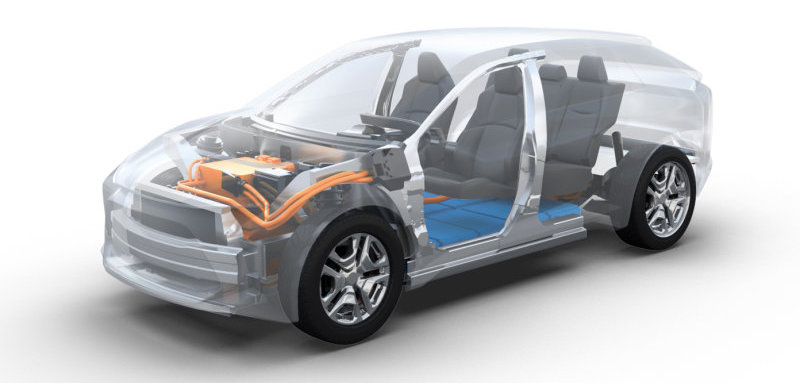 Toyota, Subaru developing RAV4-sized electric crossover and platform for more EVs