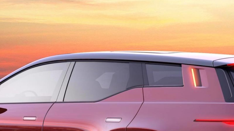 Fisker teases electric crossover again and a high-vis turn signal