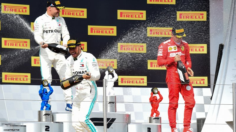 Lewis Hamilton scores dominant French Grand Prix victory
