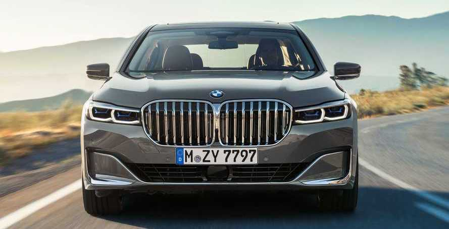 BMW Design Boss Defends Refreshed 7 Series Facelift's Huge Grille