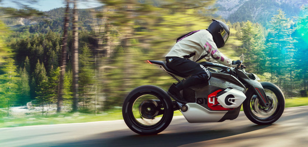 BMW Motorrad Vision DC Roadster is the electric bike of the future