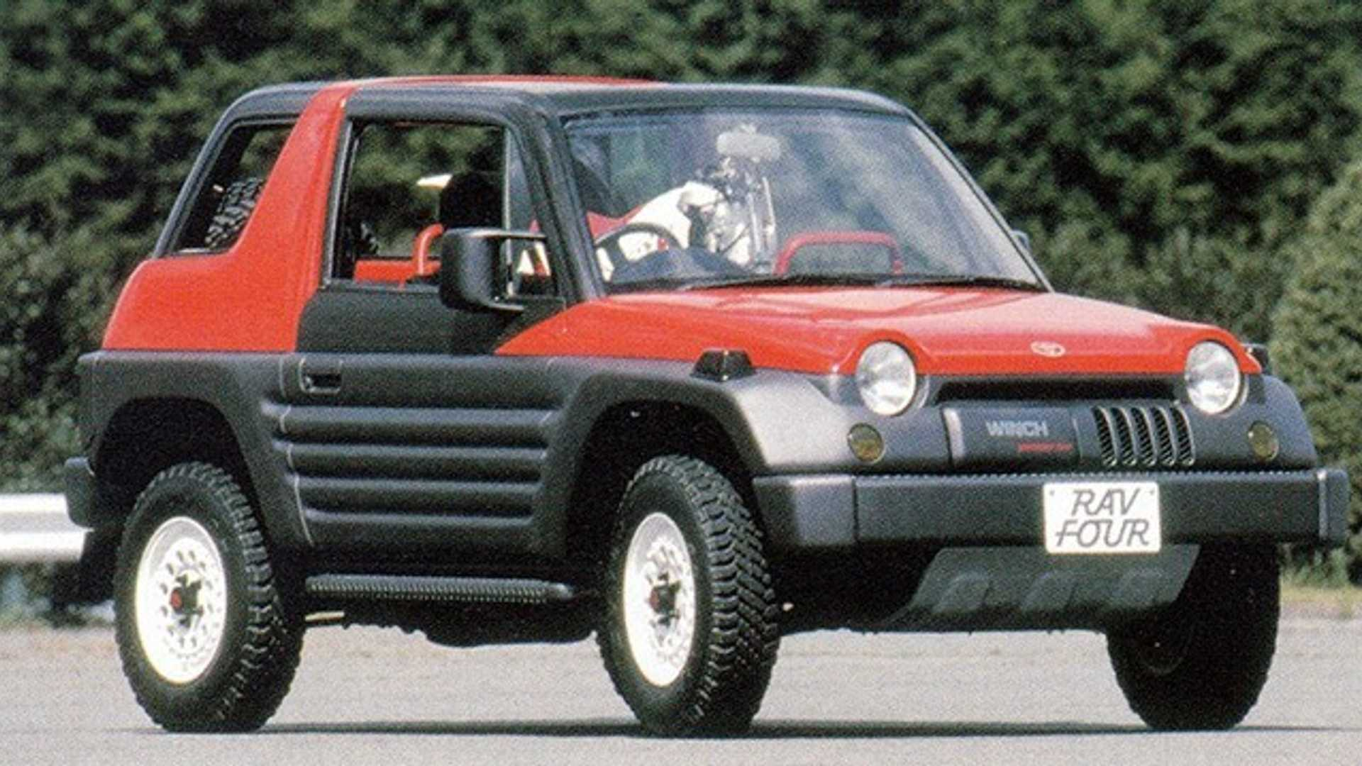 1989 Toyota RAV Four: Concept We Forgot