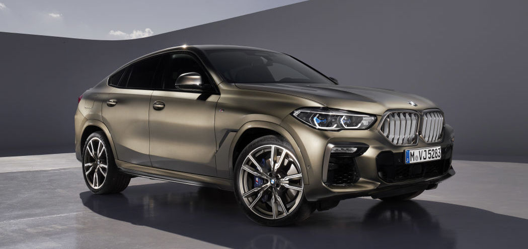 2020 BMW X6 revealed, looking more distinct from X5 than ever before