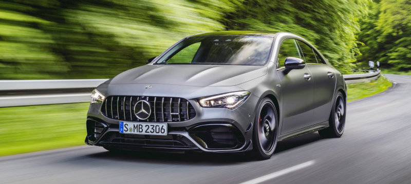 2020 Mercedes-AMG CLA 45 gets 382 hp and a trick all-wheel-drive system