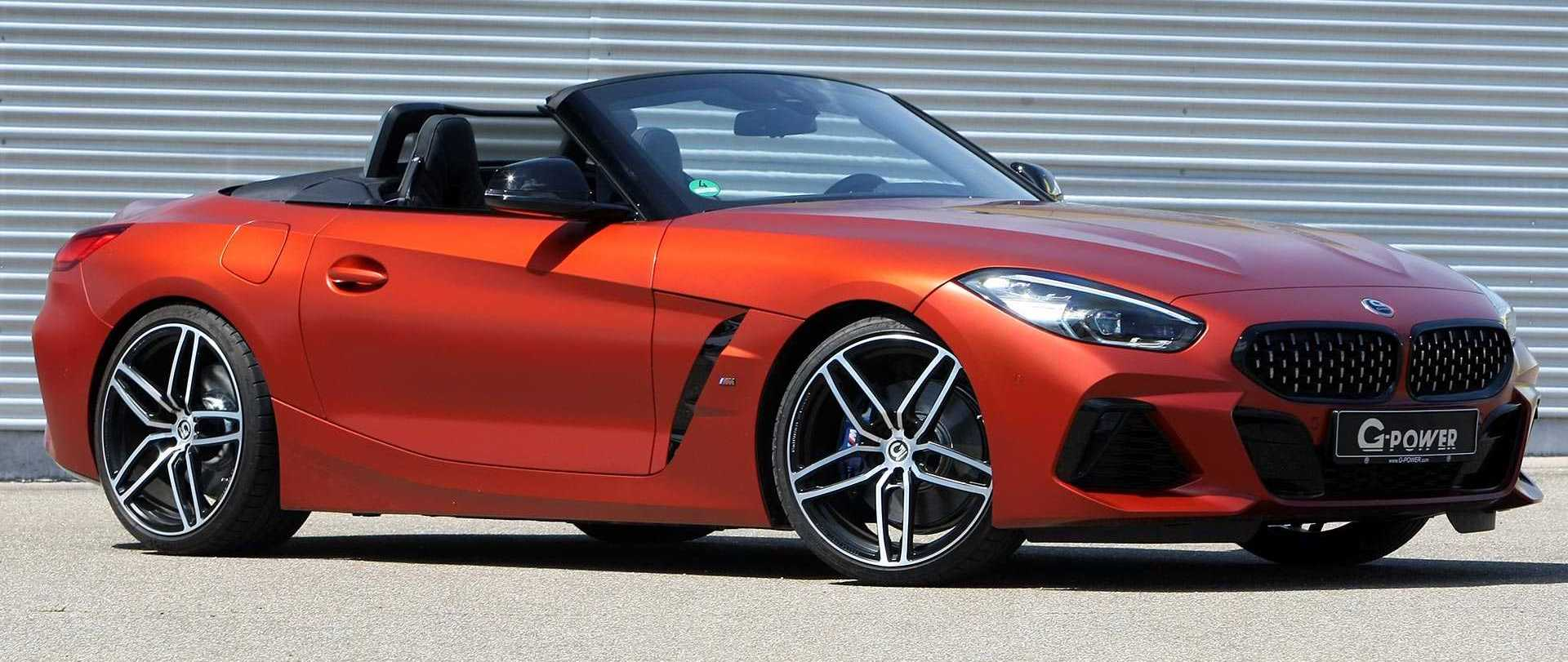 BMW Z4 Tuned By G-Power Packs Nearly 500 HP