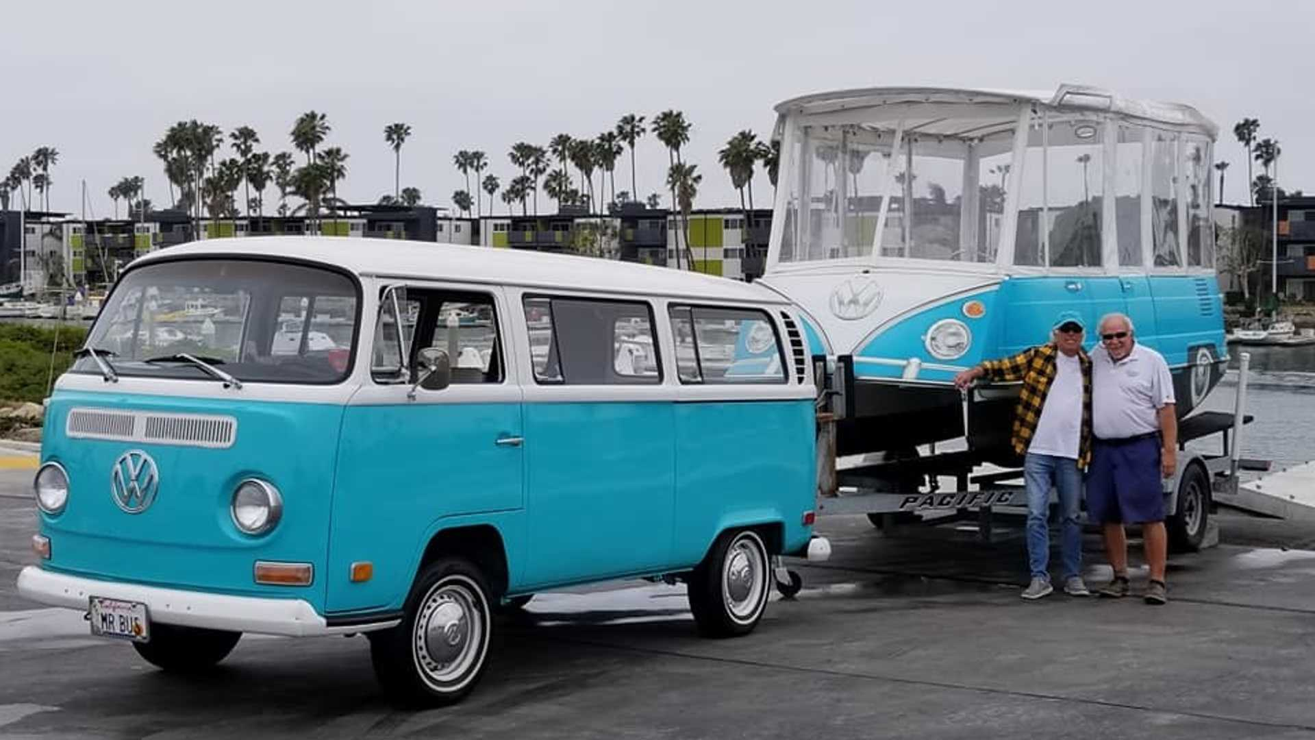 VW Bus Boat Is Cooler Than It Has A Right To Be
