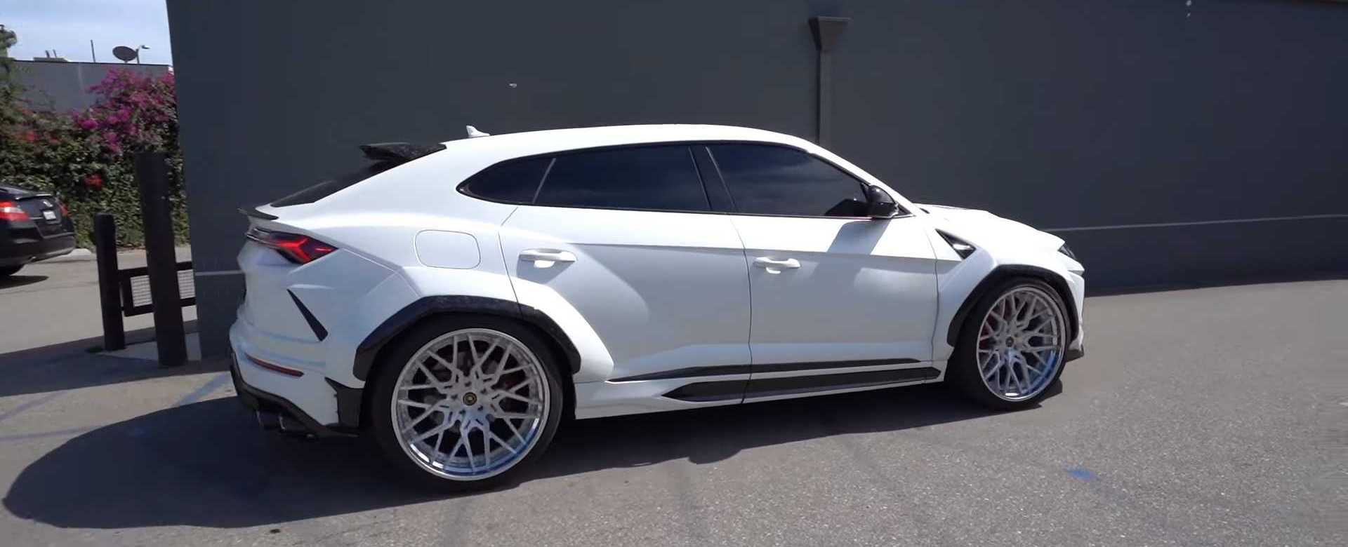 Widebody Lamborghini Urus Is Wicked, Wild, And Weirdly Awesome