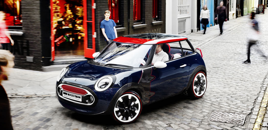 Mini Rocketman concept reportedly going into production as an EV