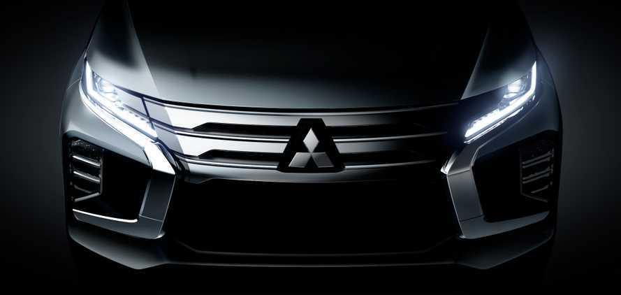 2020 Mitsubishi Pajero Sport Teased Ahead Of July 25 Debut