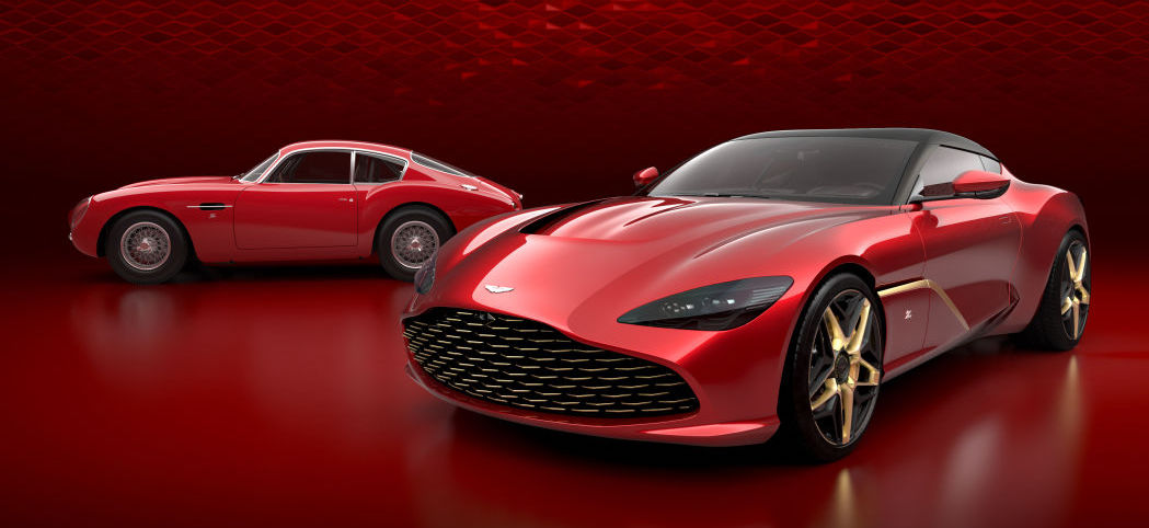 2020 Aston Martin DBS GT Zagato revealed with 'fluttering' grille, no rear window