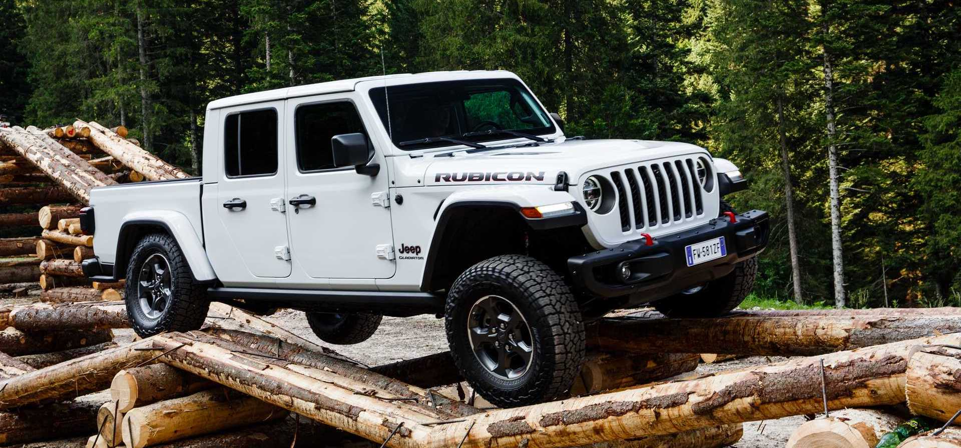 Jeep Gladiator Arrives In Europe With 260-HP V6 Diesel Engine