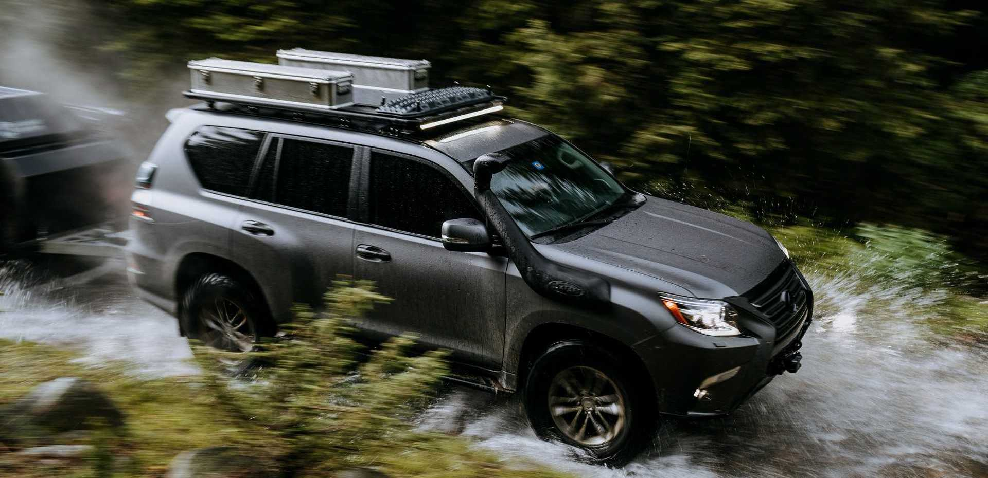 Lexus GX Off-Road Concept Is The SUV That'll Take You Anywhere