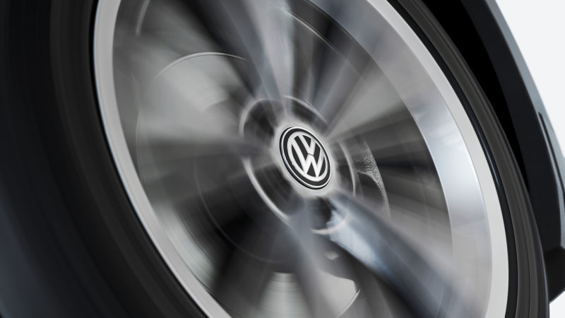 VW introduces self-leveling wheel caps, because why not