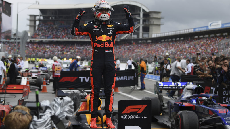 Max Verstappen wins rain-soaked German Grand Prix