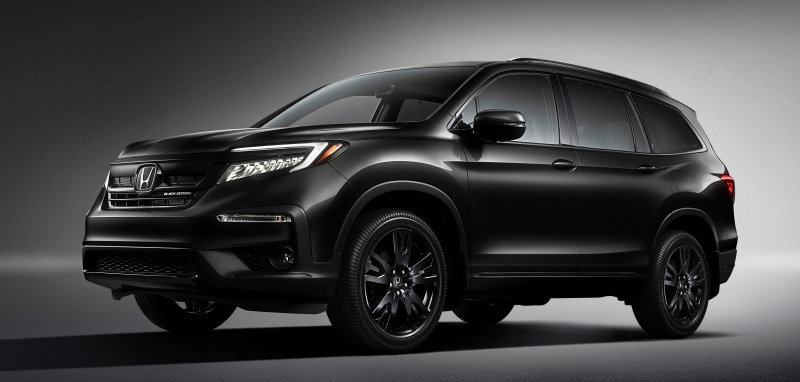 2020 Honda Pilot Black Edition debuts as the most expensive Pilot yet