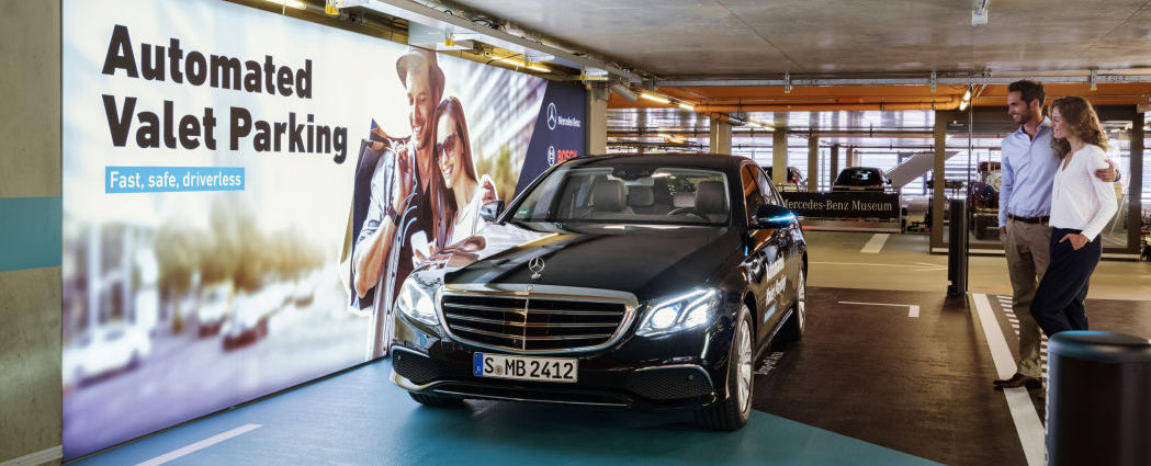 Mercedes-Benz Museum garage approved to use automated valet parking