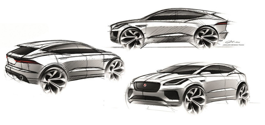 Jaguar To Use BMW's Front-Wheel-Drive Platform For Two Small SUVs?