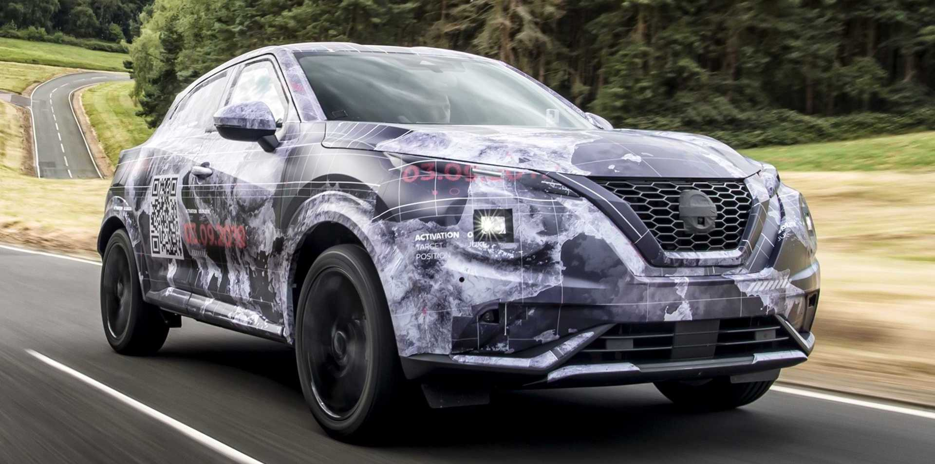 2020 Nissan Juke Teased With Camouflaged Prototypes, New Info