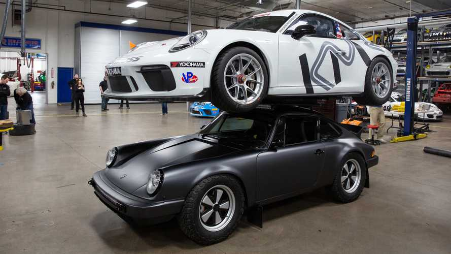 Epic Safari 911 Build Is Strong Enough To Carry Spare Porsche On Roof