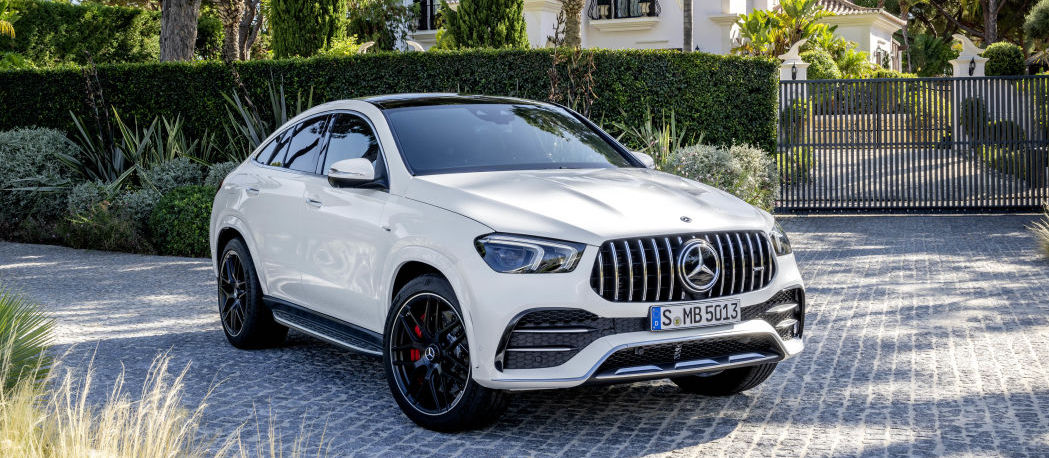 2021 Mercedes-AMG GLE 53 Coupe arrives: 429 horsepower and big, angry grille