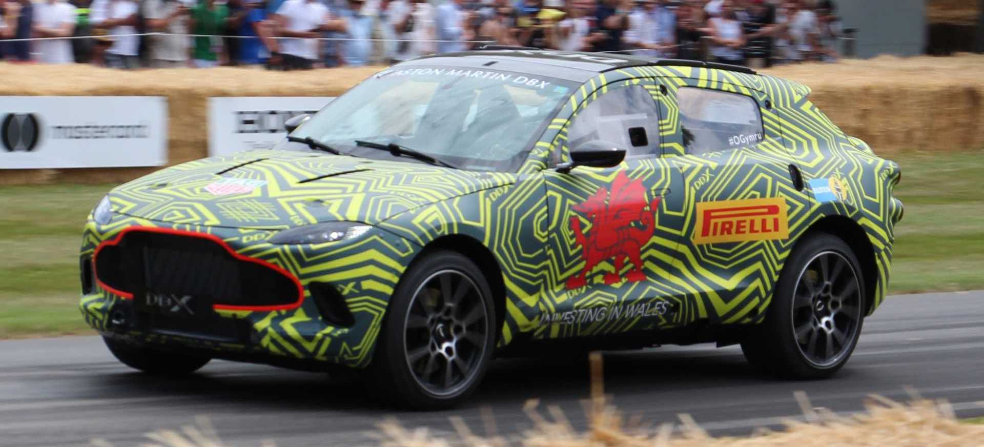 Aston Martin Thinks DBX SUV Will Be Brand's Most Important Car Ever