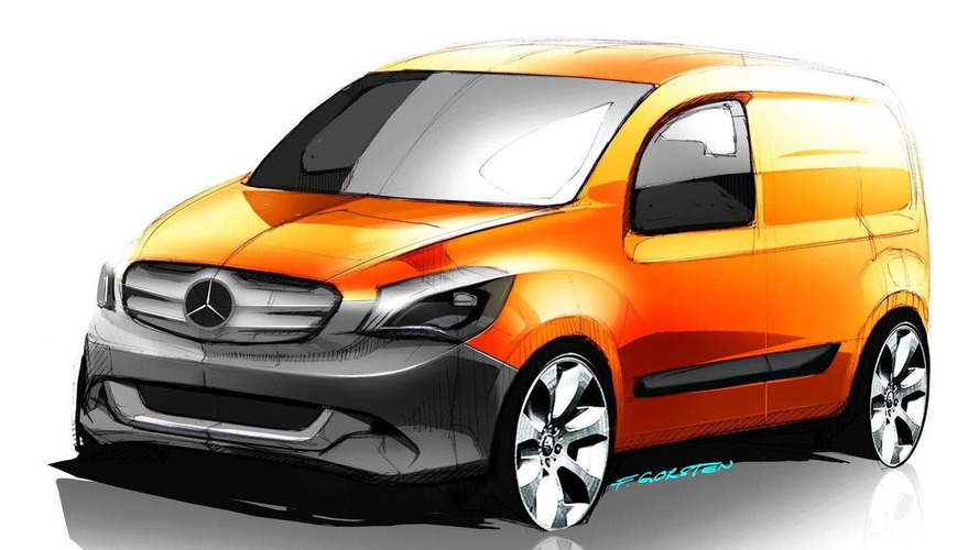 Next-Gen Mercedes Citan To Be Developed With Renault-Nissan-Mitsubishi