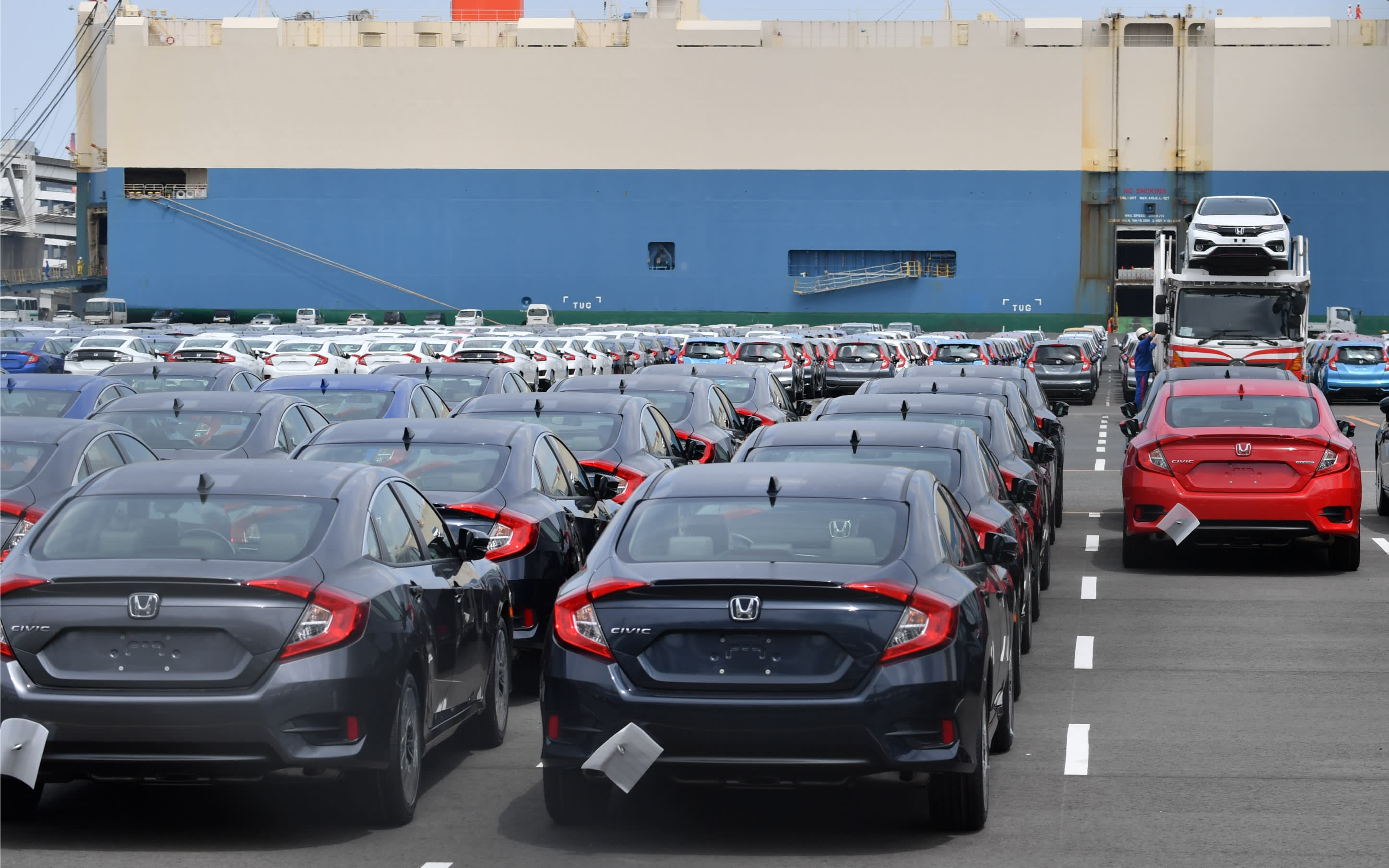 Japan and U.S. trade framework includes tariff on Japanese cars