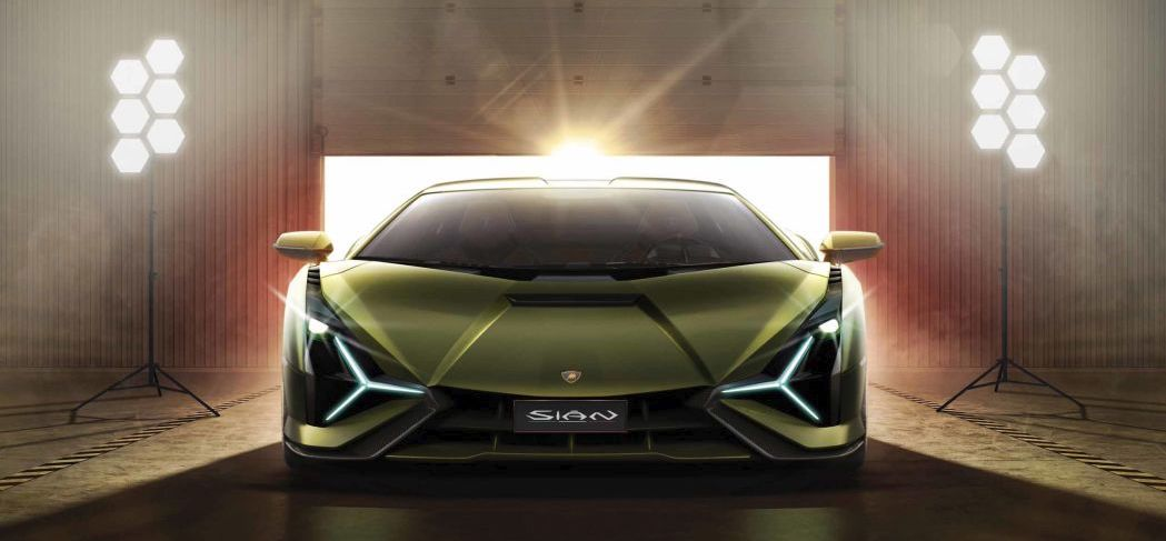 Lamborghini Sián is brand's first hybrid and also its most powerful car