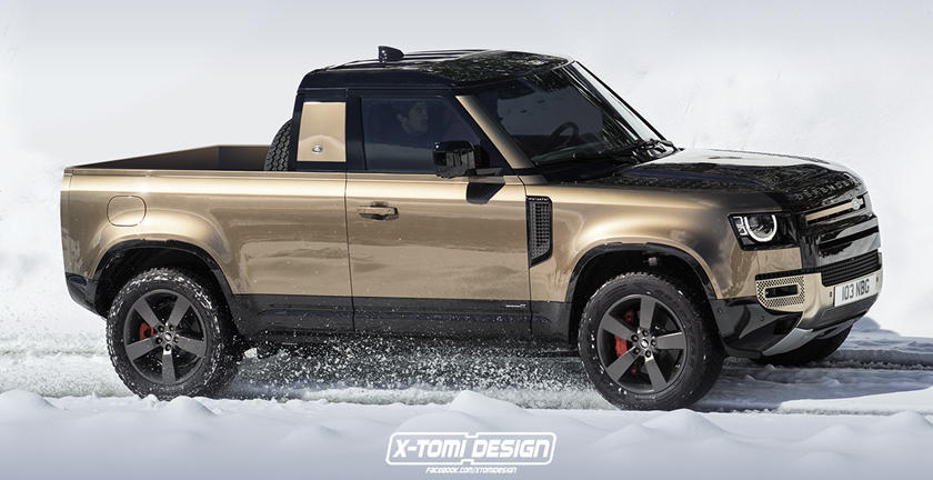 This Is The Defender Pickup Land Rover Refuses To Build