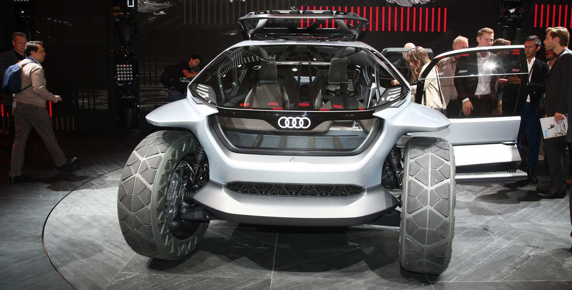 Audi AI:Trail Quattro is a fanciful electric offroad concept