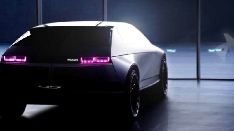 Hyundai teases Frankfurt-bound 45 concept and electric racer again